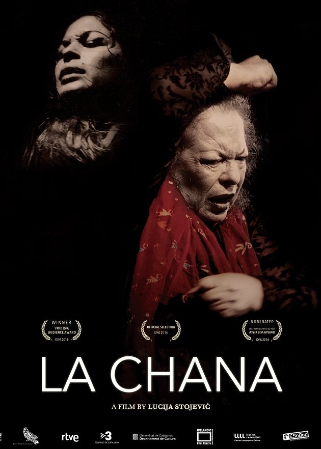 La Chana - 2016, Spain/Iceland, 83 min, in Spanish with subtitlesWith depth, humor and pathos, La Chana celebrates the charisma and flair of a self-taught Gypsy flamenco dancer who in the 1960s-80s rose to international stardom and then suddenly vanished from the public eye at the height of her career. Peter Sellers saw her dance as a young woman and asked her to perform in the film 'The Bobo' in 1967. Hollywood beckoned, but that was not to be. In her baroque boudoir in Barcelona, La Chana continues to practice her art and reveals the reason her career came to such an abrupt end. Filled with footage of spectacular flamenco dance and music, this film brings us under the skin and into the irrepressible spirit of this eccentric woman with an uncanny gift for rhythm who, despite all odds, enjoys a comeback in her late sixties.