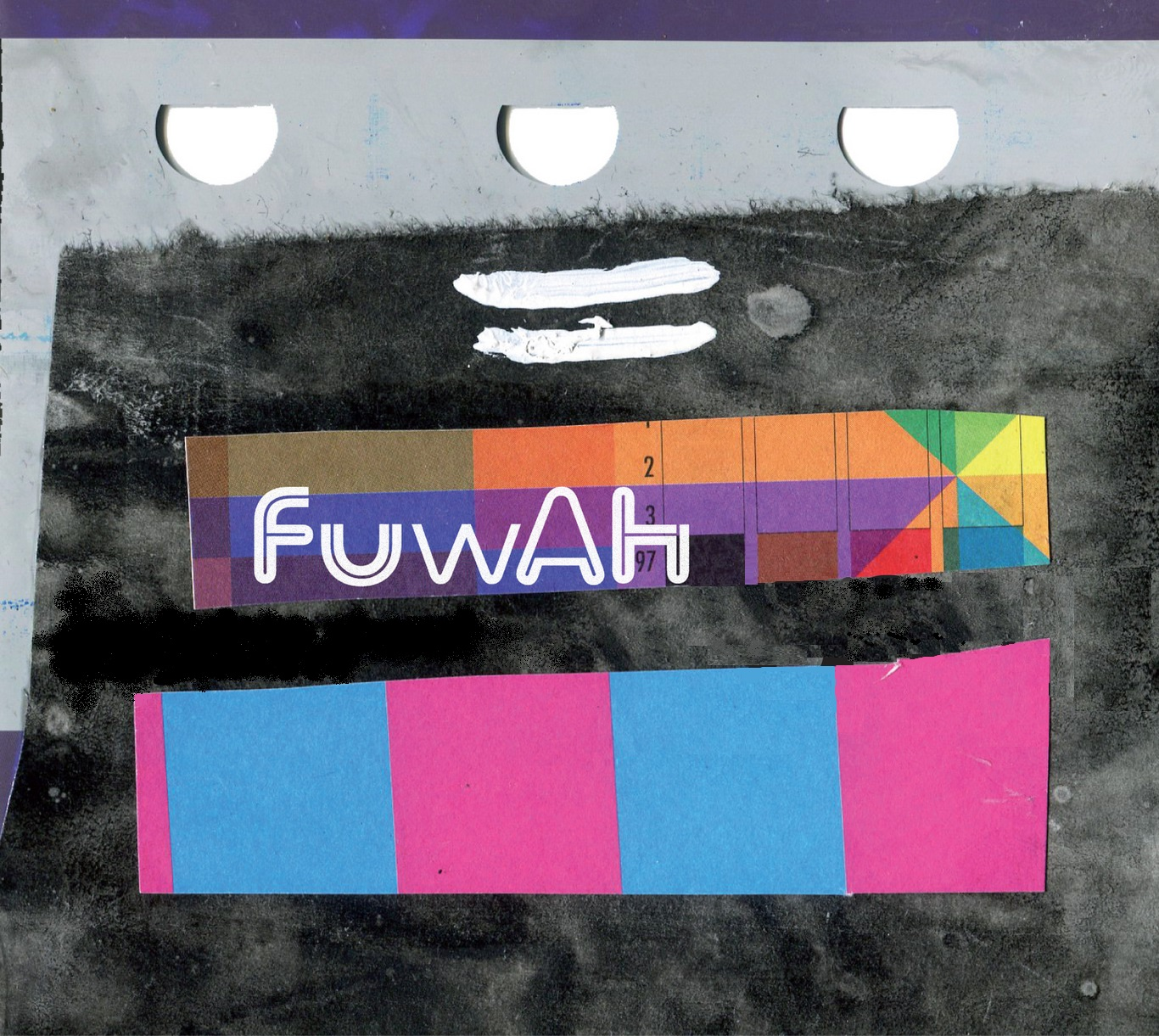 FUWAH - was born in 2012 from the collaboration with double bass player Luca Pissavini. We have released FUWAH and FUWAH Songs under Setola di Maiale and BUNCH Records. We have now fully welcomed Filippo Cozzi (saxophone) and Fabrizio Carriero (drums). Eŭropo: sen limoj is our first album as a four people band.Album cover by Andrea Marconi