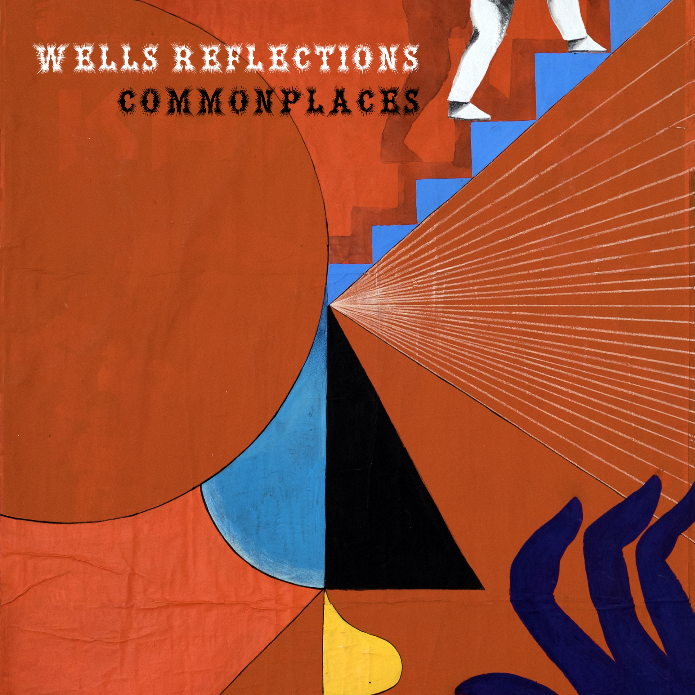 Wells Reflections - originated from the desire to create a band interested in exploring the field of improvised music within a determined framework. The quintet, comprising percussion (Ana Gomez), tuba (Jo Gibson), vibraphone (Ian Da Preda), violin (Inês Lapa) and voice (Maddalena Ghezzi), works on original and curious compositions.Album cover by Giacomo Run