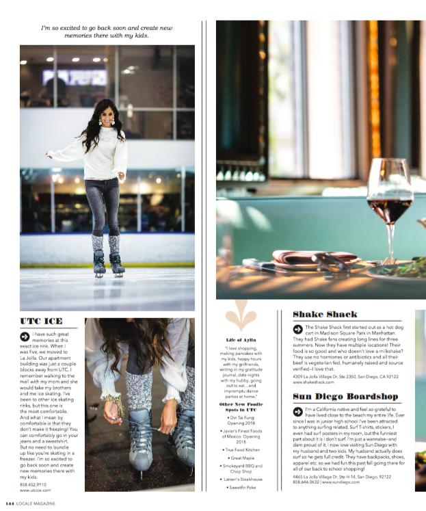 Lisa Leedy- Locale Magazine December 2018- Stylin by Aylin