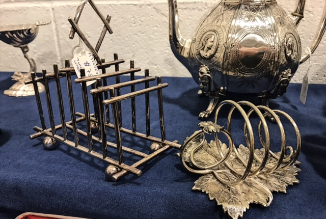 Different types of Toast Racks I found at the DC Big Flea recently.