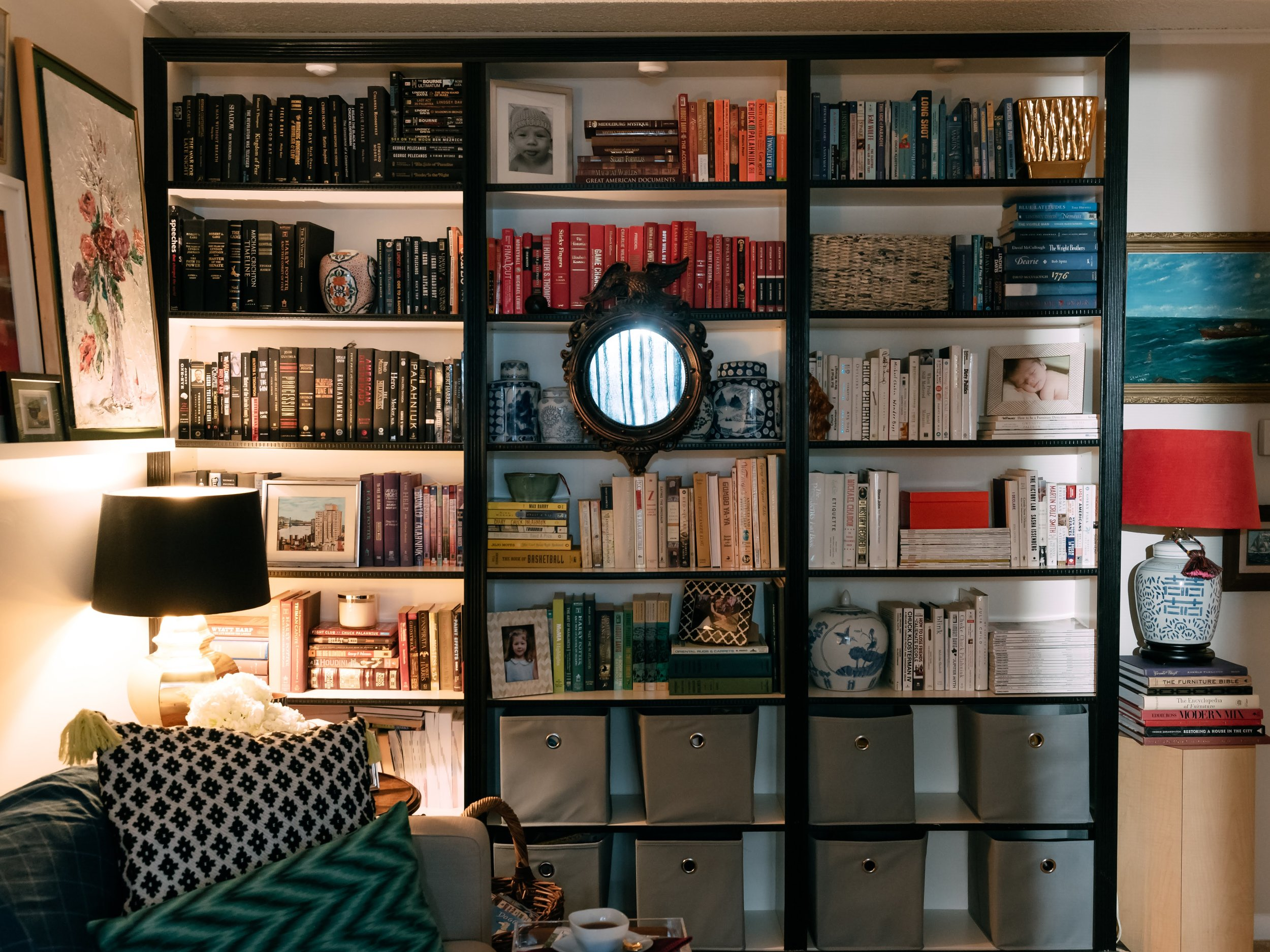 How do you like your bookshelves?
