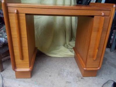 Mid Century Vanity/Desk - $125