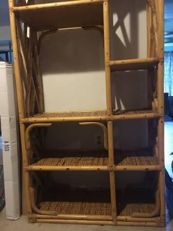 Bamboo Bookshelf - $40