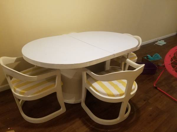 Dining Table and Chairs - $100