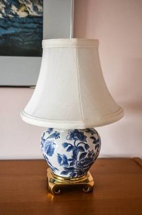 SMALL ORIENTAL LAMP - $40