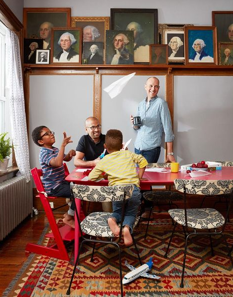 using vintage portraits in your home