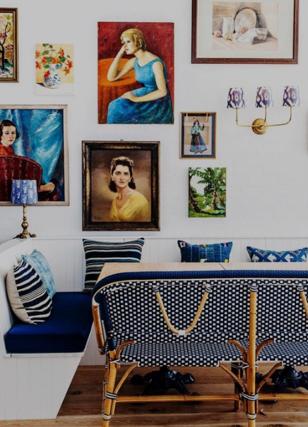 Using Vintage Portraits in Your Decor