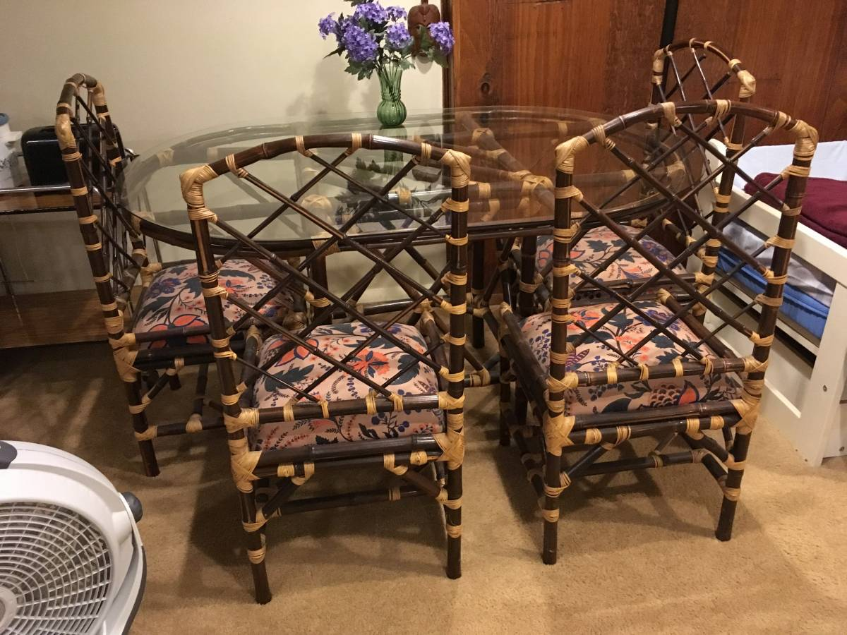 Table and Chairs - $150