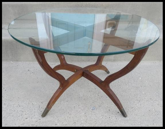 Mid Century Table - $120