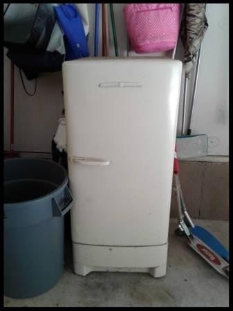 Working Vintage Refrigerator - $295