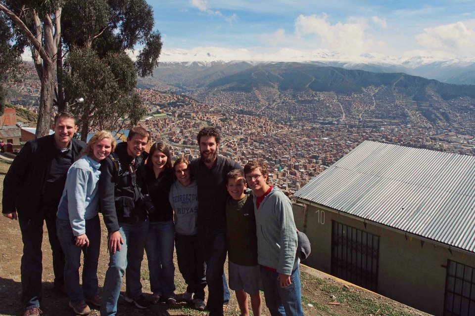 El Alto above La Paz, Bolivia - December 2012
