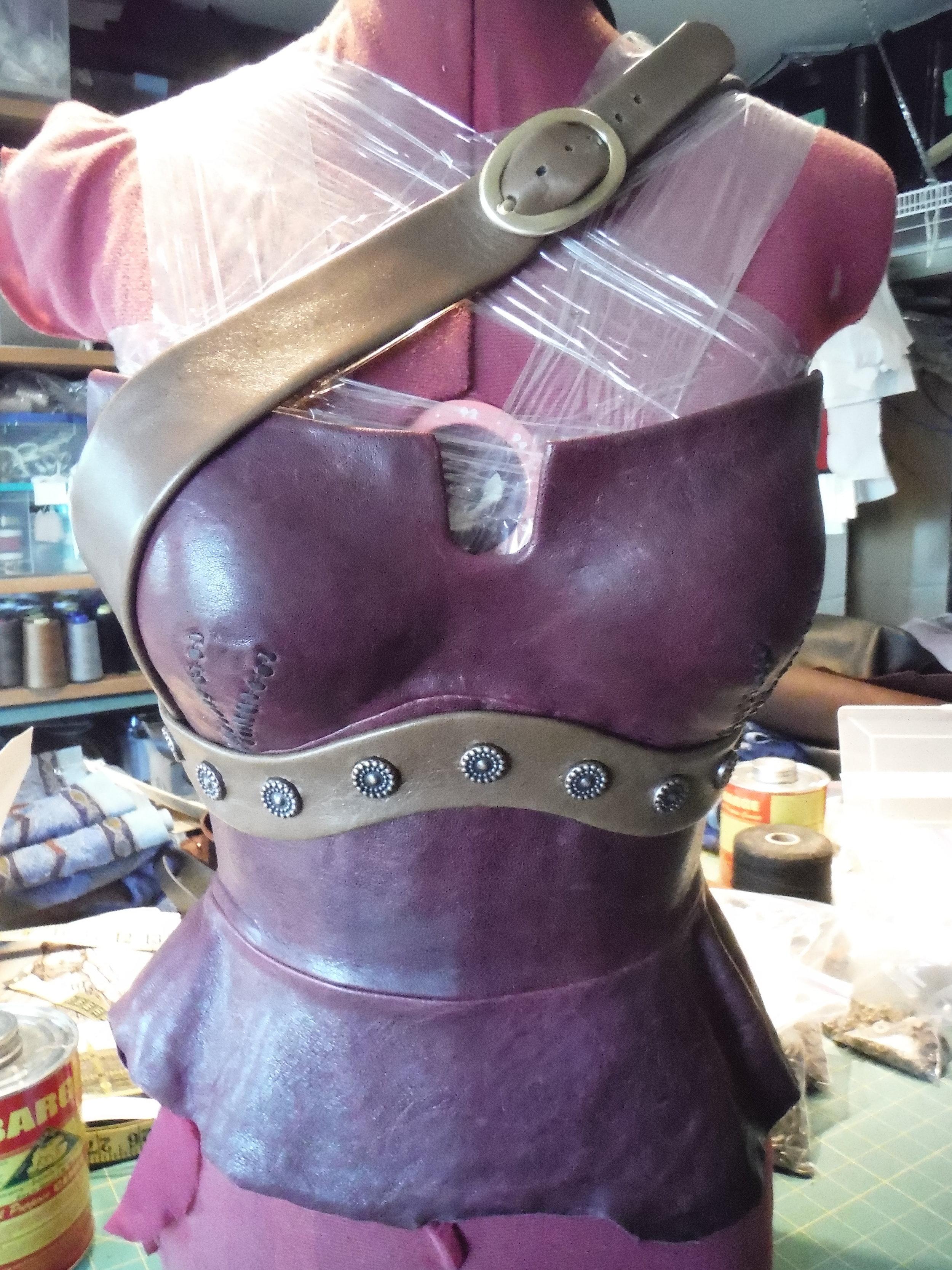Ariadne - Leather Harness