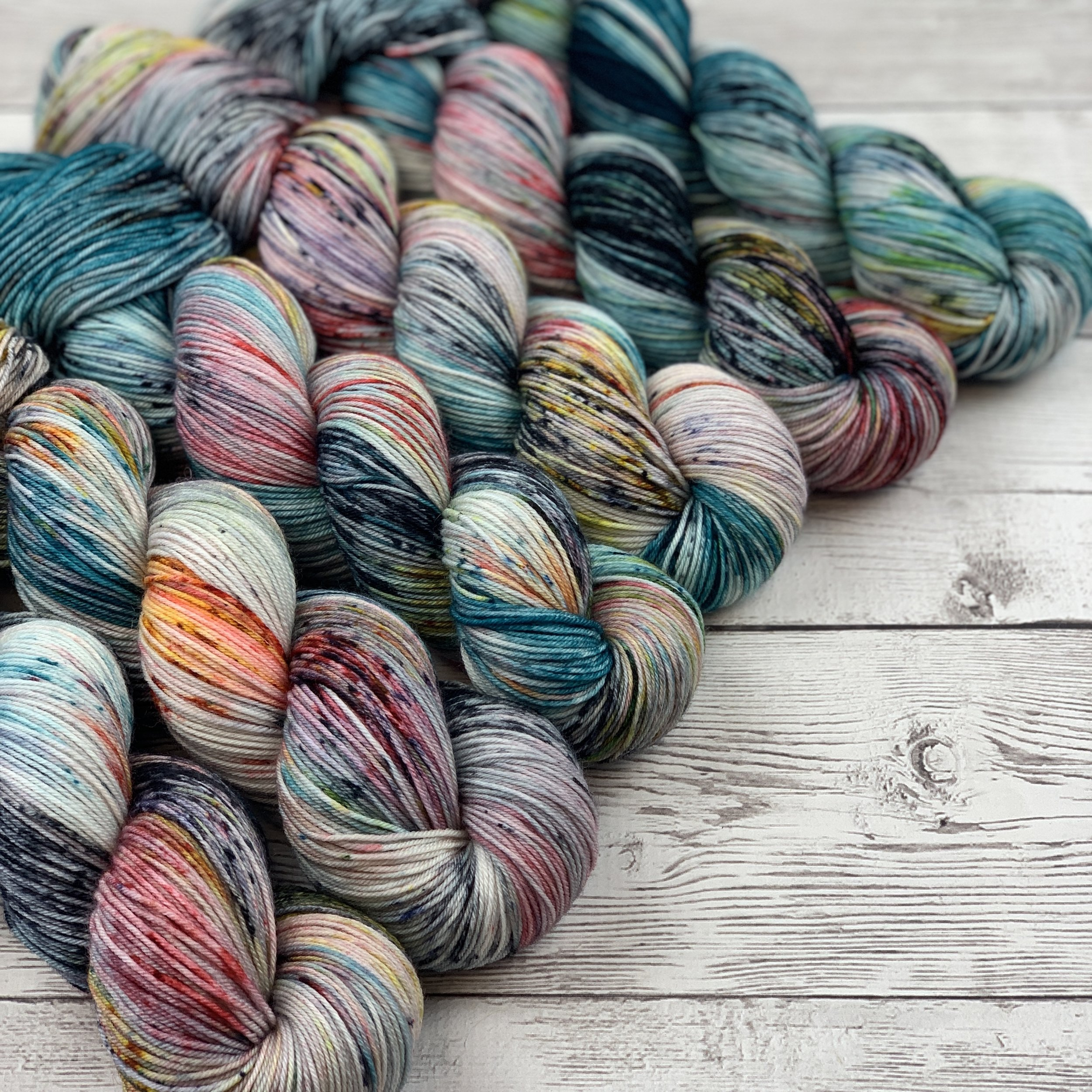 Classic Sock - 100% SUPERWASH MERINO. A 4 PLY THAT BLOOMS, STRONG ENOUGH FOR SOCKS. 438 YARDS | 100 GRAMS.