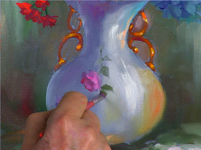 What Is Paint with PassionOnline Floral-Still Life Painting Course - Upgrade Your Painting Skills
