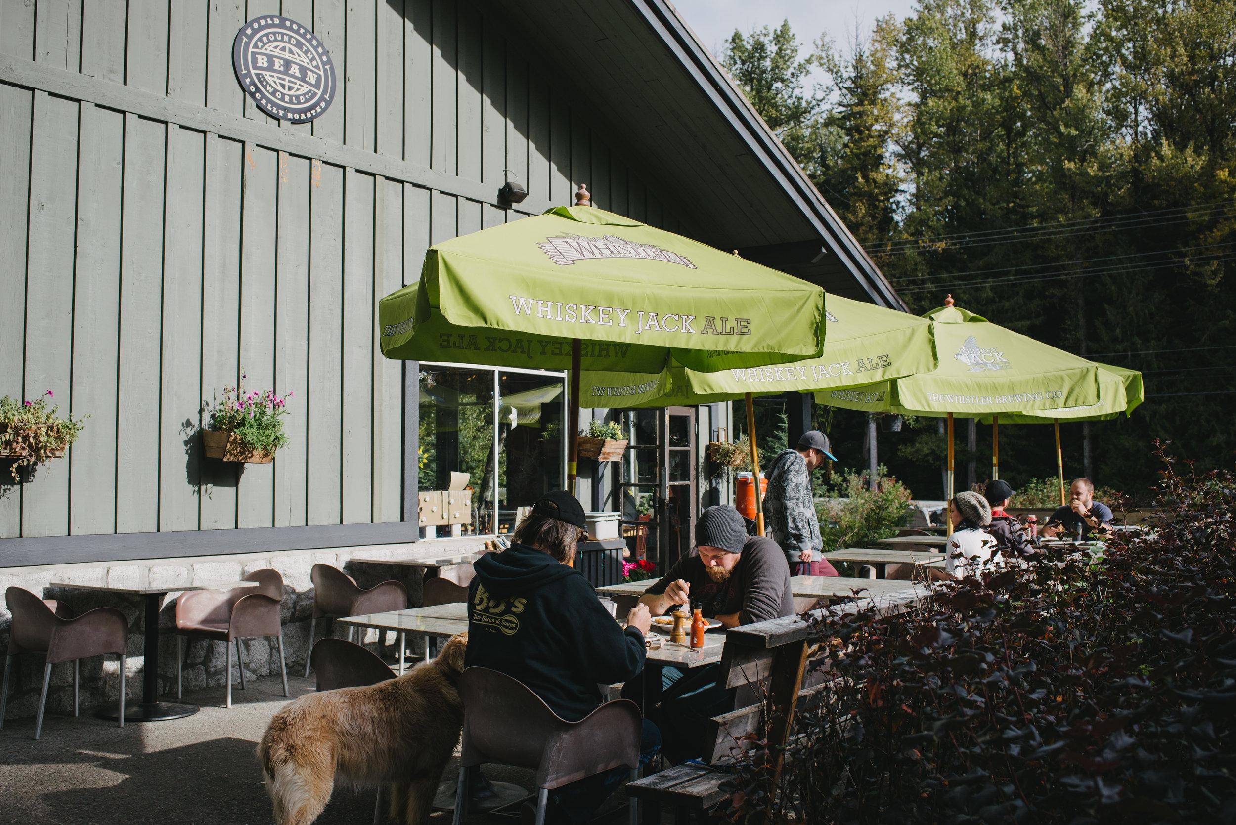 Alpine Cafe Patio