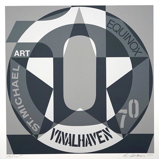 #RIP Robert Indiana. A true master of #popart ❤️⚡️ Robert Indiana: Autoportrait Vinalhaven Suite 1980 . In 1978 Robert Indiana (b. 1928) relocated from his studio in Manhattan to the island of Vinalhaven, located in Maine's Penobscot Bay. In the series Decade: Autoportraits, Vinalhaven Suite (1980), Indiana created a silkscreen for every year of his tumultuous 1970s. For him, 0 signified Death #robertindiana #pop #popart #pascalfineart #artforsale #gayartist #vinalhaven