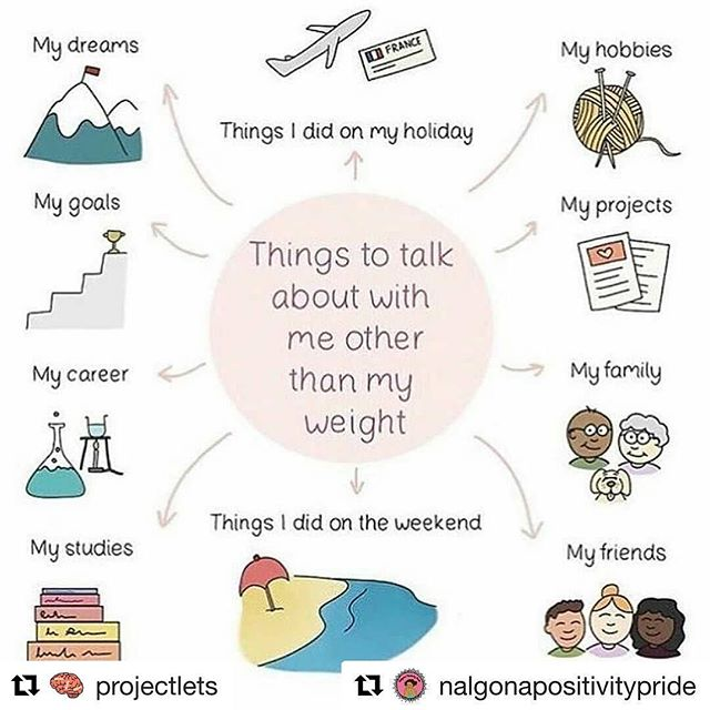 #Repost @projectlets ・・・ @nalgonapositivitypride ・・・ Please don't bring up people's weight during the holidays are like never. 😥  #Repost @minds__matter ・・・ It's coming close to the worst month for diet culture where all the talk is diet, food, exercise, weight loss, blah blah blah.  You're allowed to change the subject.  #mentalhealthblog #blogger #mentalhealthawareness #mentalillness #depression #recovery #prorecovery #mentalhealthwarrior #positivity #mindsmatter #chemicalimbalance #healing #selfhelp #mindfulness #medication #selflove #selflover #bodypositive #bodyposi #selfcare #anxiety #selfcaresunday #edrecovery #edsoldier #anarecovery #edwarrior