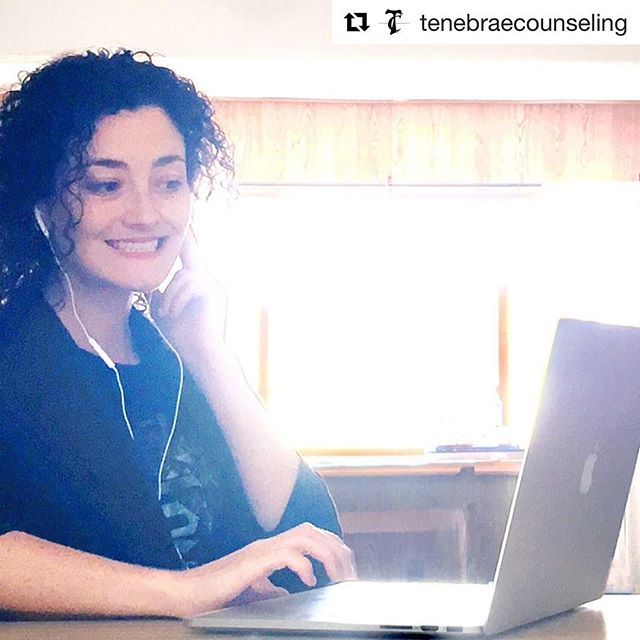 My good friend Annalicia at @tenebraecounseling is up and running for your mental health needs in the states of Colorado (in-person or video counseling) and Massachusetts (video only)! Check out her IG and website and give her a follow and some love ✌🏻 #mentalhealth #therapy #colorado #massachusetts #counseling #bff #telehealth #onlinecounseling #noexcuses