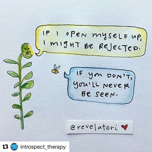 #Repost @introspect_therapy  #mentalhealth #therapy #counseling #vulnerability #courage #emdr #emdrtherapy #healing