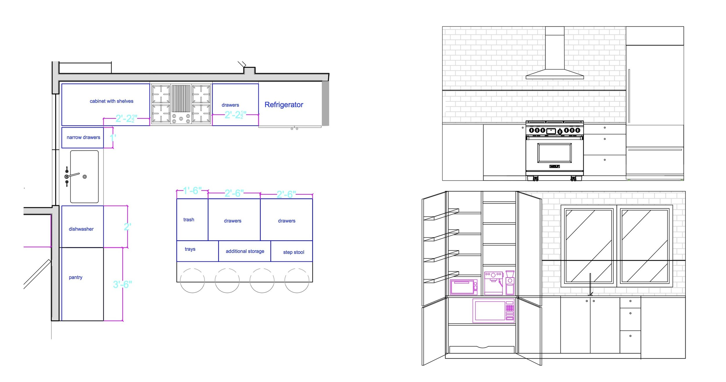 autocad drawings - kitchen layout and elevations.jpg