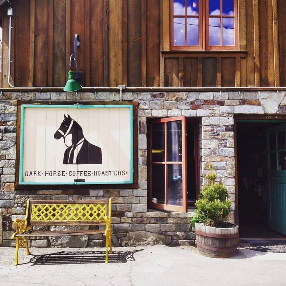 10 Best: Tahoe Coffee Shops    Dark Horse Coffee Roasters has a bit of a cult following in southern California and now their fresh roasted coffee is located in Truckee in a stone building that used to be a saloon.