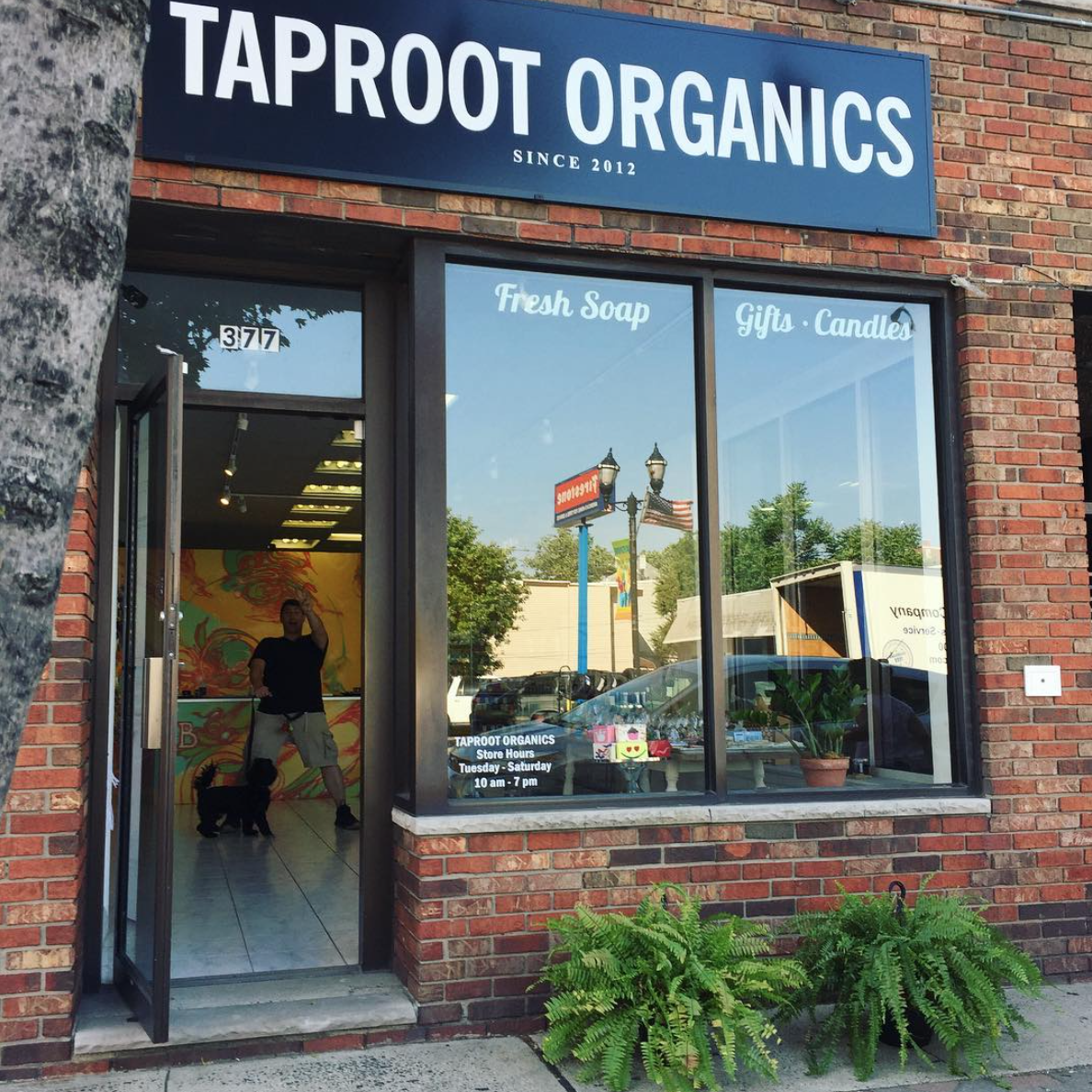 Taproot Organics - Organic SkincareContent Creation and Community Engagement.