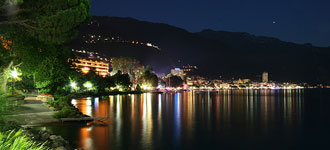 Montreux, Switzerland, on the scenic Lake Geneva, one of the most beautiful lakes in the entire world, looks very inviting and inspiring, just like a beautiful acid-stained concrete floor, but unfortunately, it will not lead to any energy savings. Photo courtesy of  Marc Baertsch .