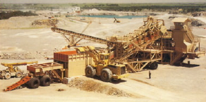 Natural aggregates, such as sand, gravel, limestone, calcite, and crushed stone, make up a large part of concrete and are almost always mined from local quarries and deposits.