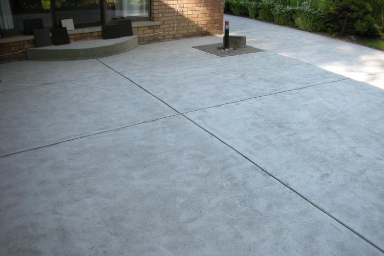 Decorative Concrete Flooring, Outdoor Patio Concrete Overlay