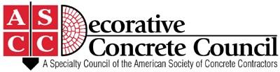 ASCC Decorative Concrete Council Logo
