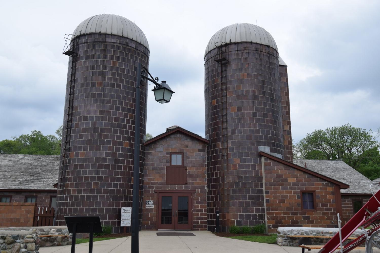 Dairy Barn At Van Hoosen Museum In Rochester Hills, Michigan