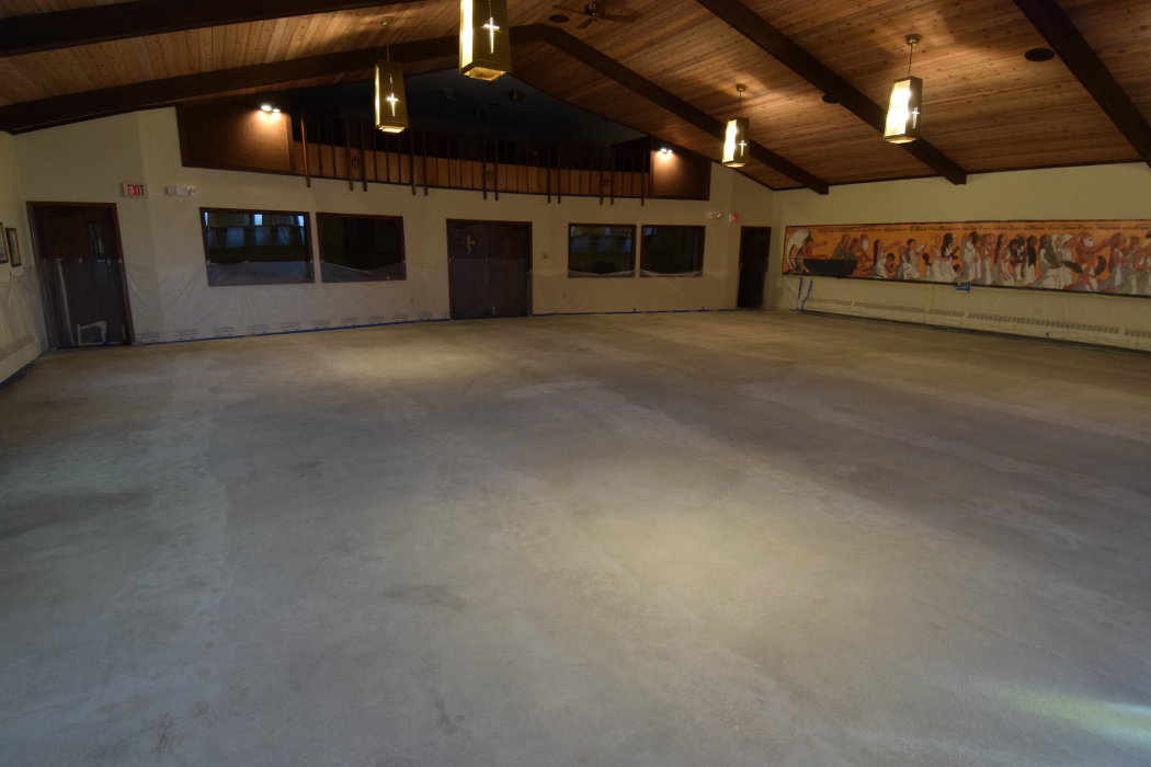 Grace Lutheran Church Stained Concrete Flooring Photos Premier