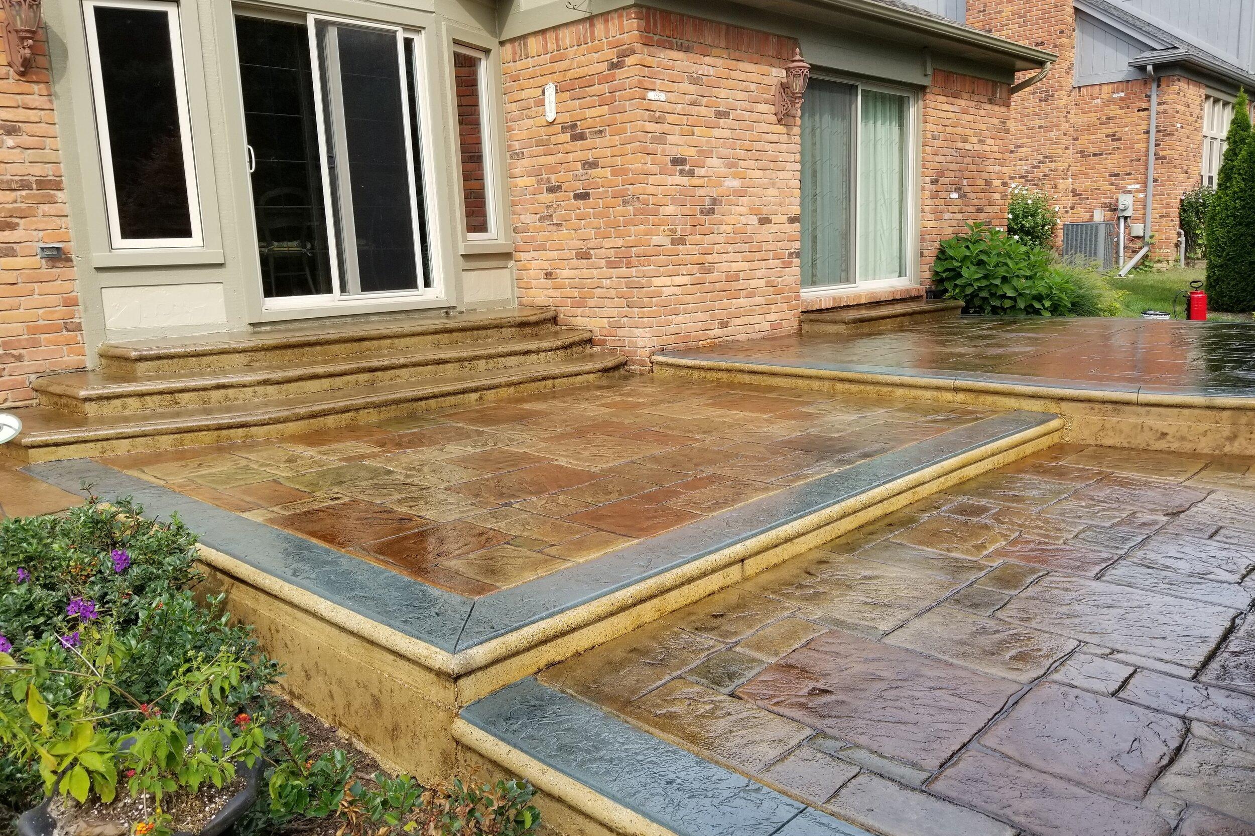 Acid Stained Concrete Flooring