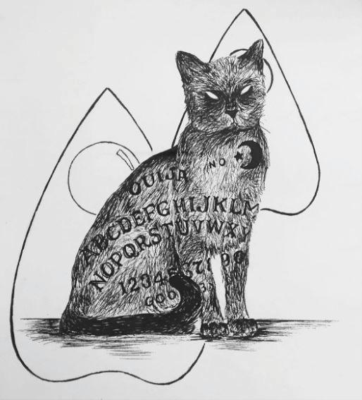 Ouija Cat