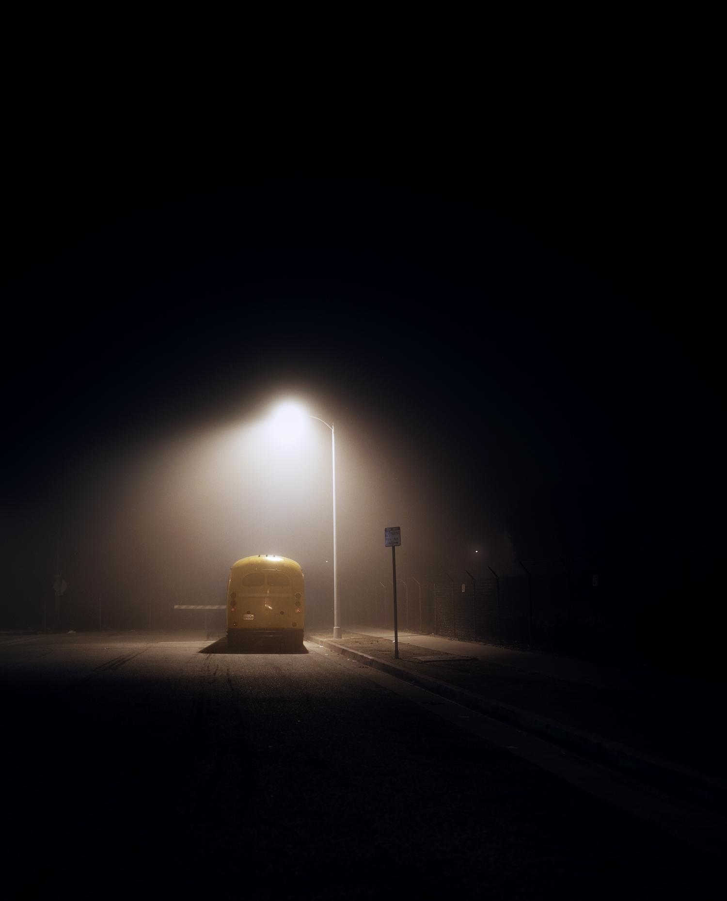 Bus, Westchester, CA.