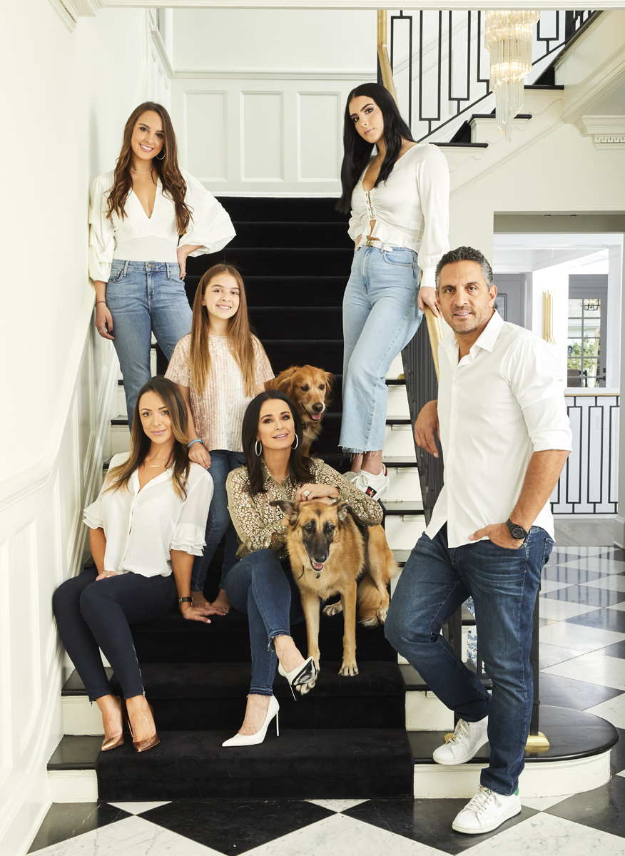 Kyle Richards and Family