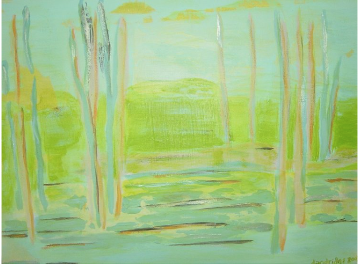 Walden Woods | Acrylic | Abstract Art | SOLD