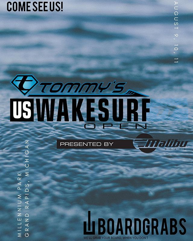 We will be at the US Wake Surf Open this weekend at millennium park. Come see us! 🤙🏻 —— We will be at the US Wake Surf Open this weekend at millennium park. Come see us! 🤙🏻 —— #uswakesurfopen #wake #snow #surf #wallmounts #wakeboarding #surfing #snowboarding #snowboards #surfboards #wakeboards #wherewaketakesyou #pwt #prowaketour #malibu #tanksfilled