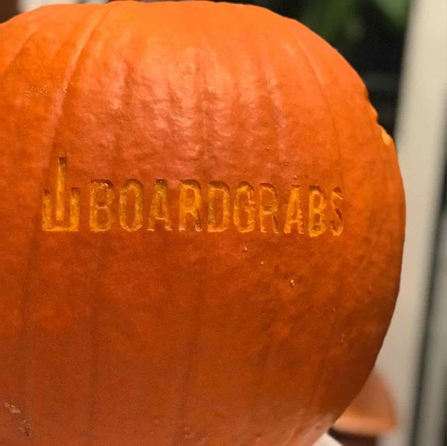 "Getting spooky here at BoardGrabs!👻🎃 —— Running a promo for the month! Get 15% off your entire order with code ""HALLO15""! —— Snowboard and wakeboarrd mounts available! —— #boardgrabs #boardmounts #wallmounts #halloween #jackolantern #spooky #snow #snowboard #snowboarding #snowboards #shreds #pwdr #skate #skateboard #skateboarding #wake #surf #wakeboarding #surfing #snow #wintersports #prowake #winter #summer #vibes #backcountryskiing #backcountrysnowboarding"