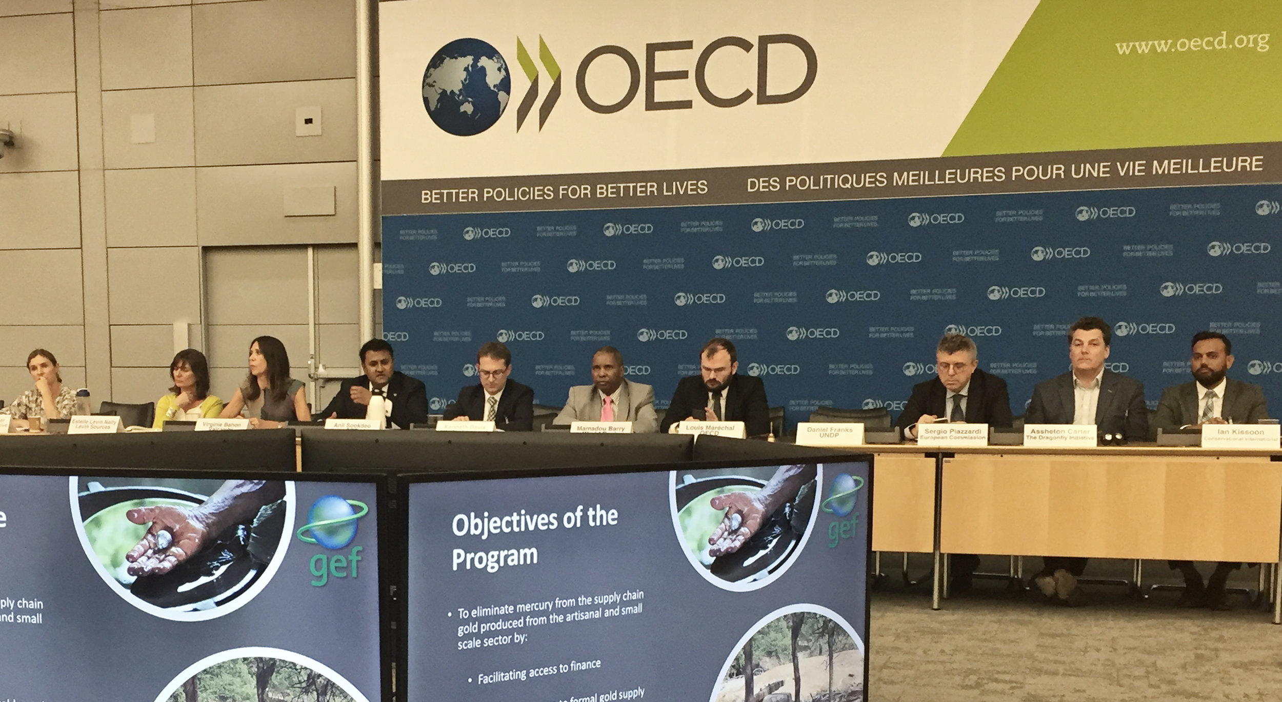 A commitment to launch a prize-driven challenge to attract innovators, entrepreneurs, and engineers to utilize the vast powers of technology in solving this growing global problem was well received at the OECD.  PARIS – APRIL 20, 2018