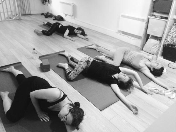 Stretched Mums yoga is energising, often strong but has lots of emphasis on rest! Come and join us - see the classes page for more details.