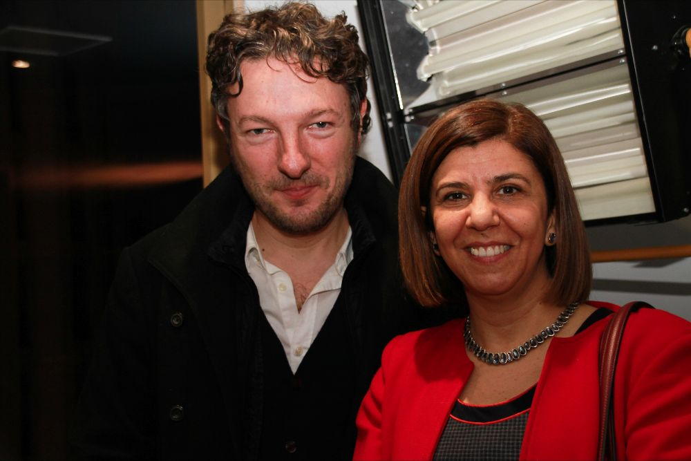 Maria Bonaria Fois and Dimitri Papanikas (Mondo TV)