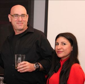 Alexis Cardenas (The Kitchen) and Yoram Chertok (The Kitchen)