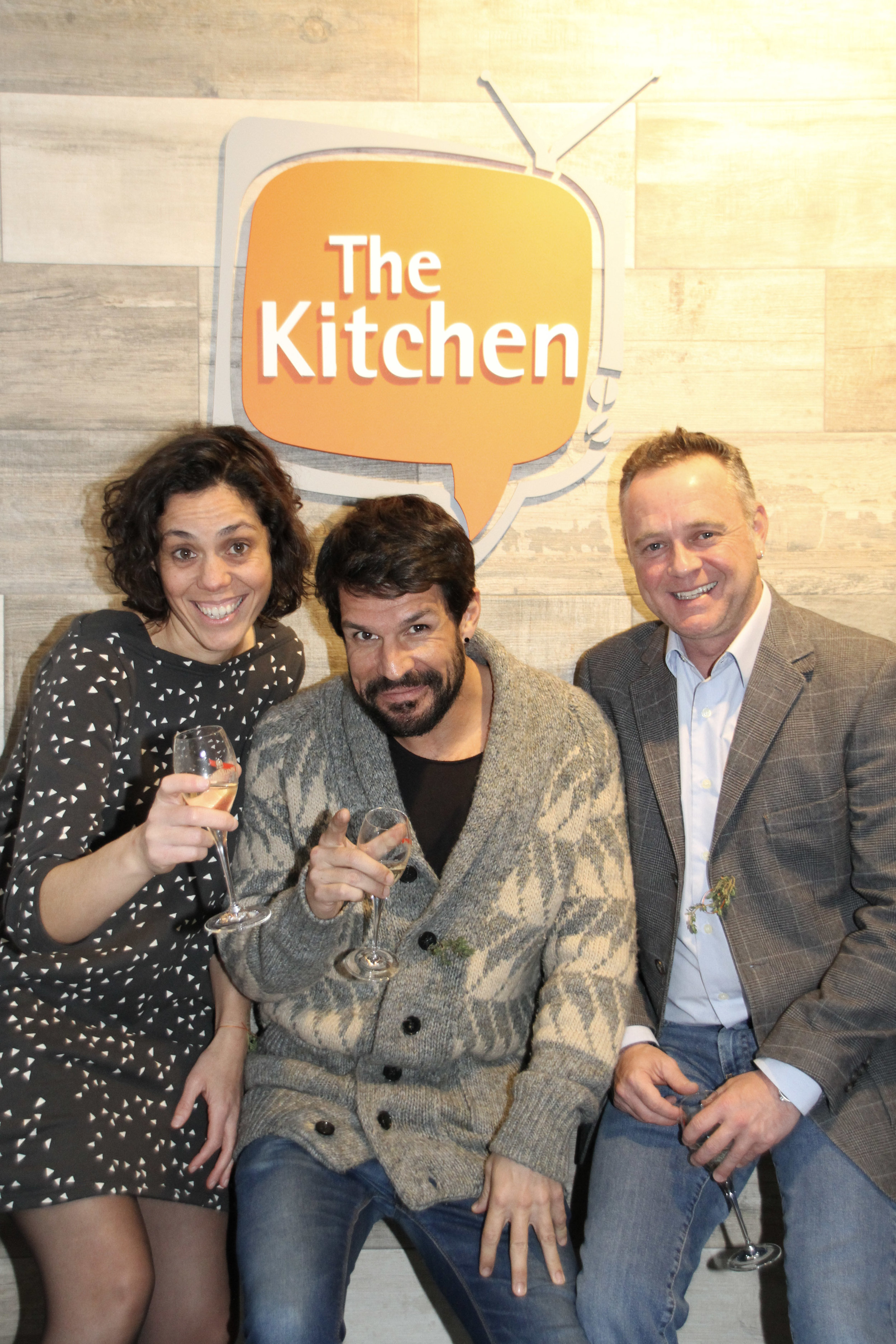 Ainhoa Martin (The Kitchen), Fran Jimenez (Dubbing Actor), Jesus Pinillos (Dubbing Director and Actor)