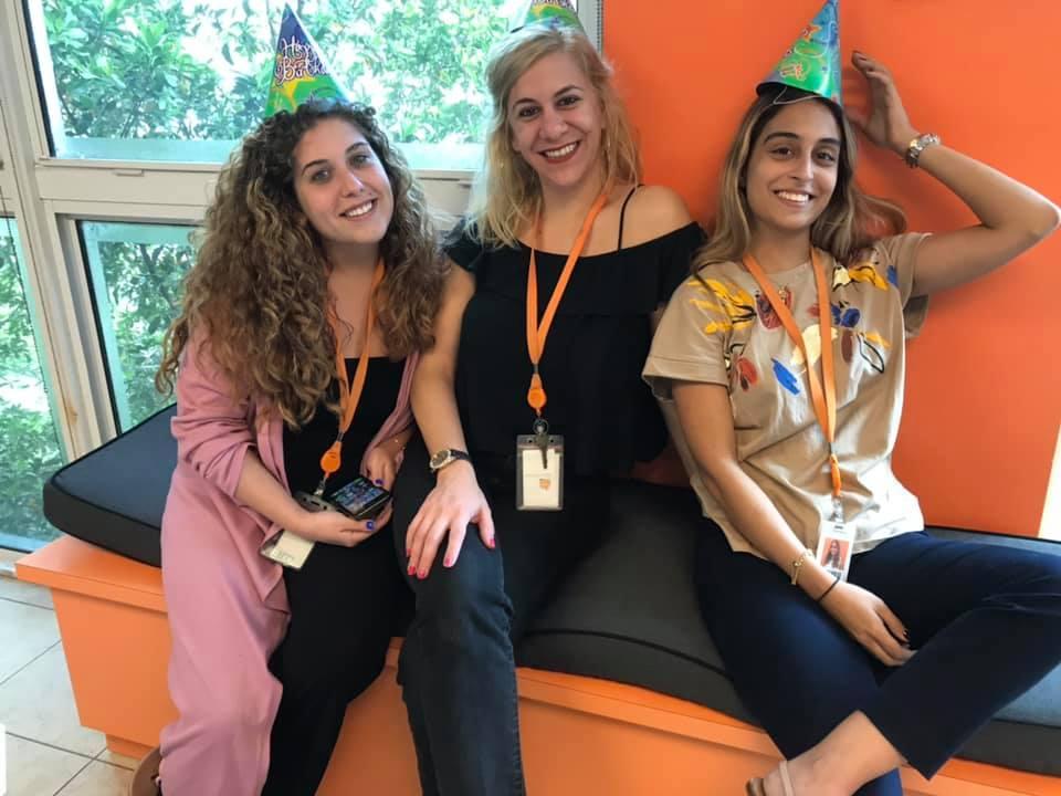 Isis Leyva (Casting Coordinator), Natasha Moya (Project Manager) and Maria Herazo (EMEA Coordinator)