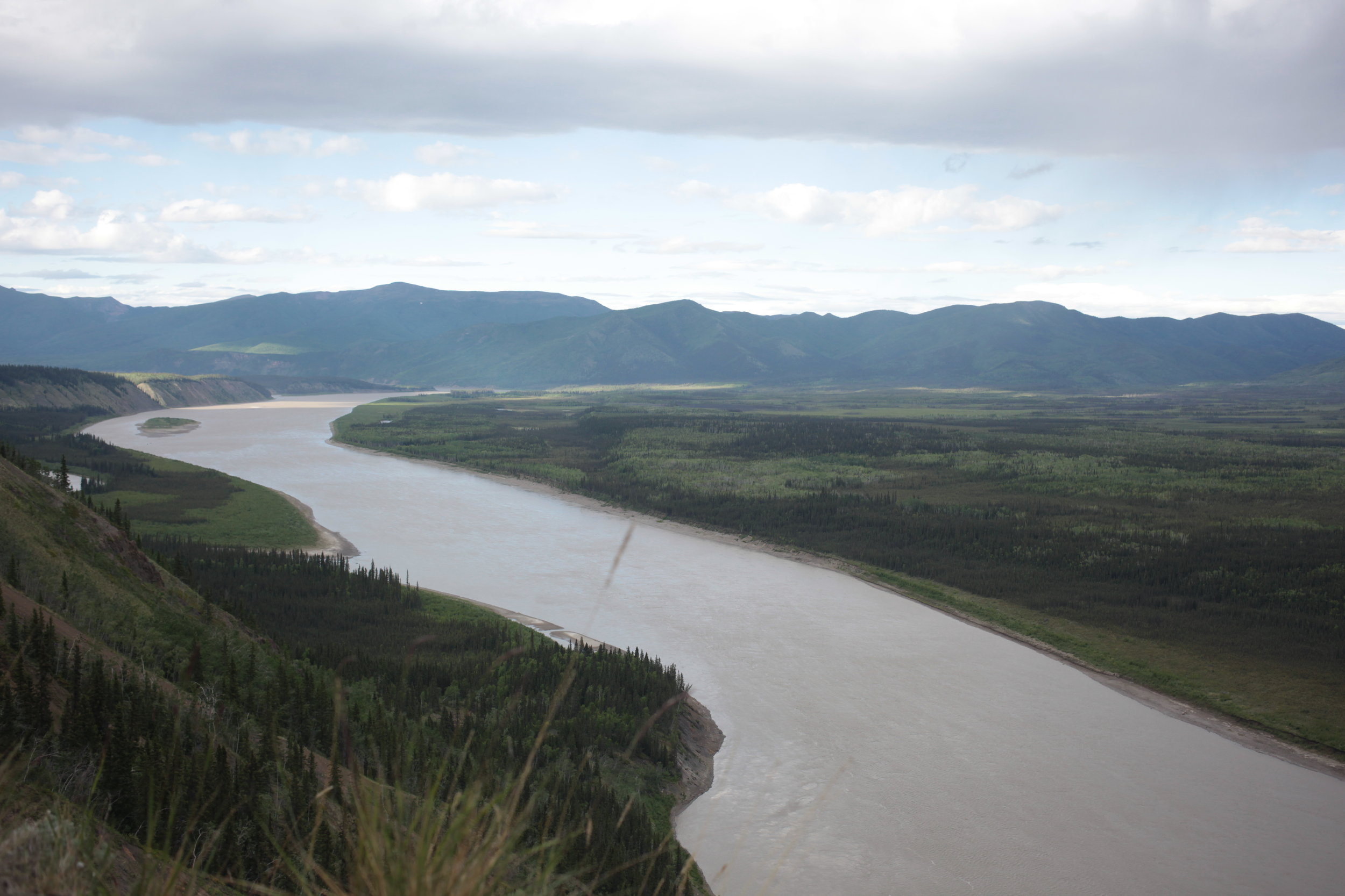 Approximate location of where Eagle's new fish wheel will be used on the Yukon River.