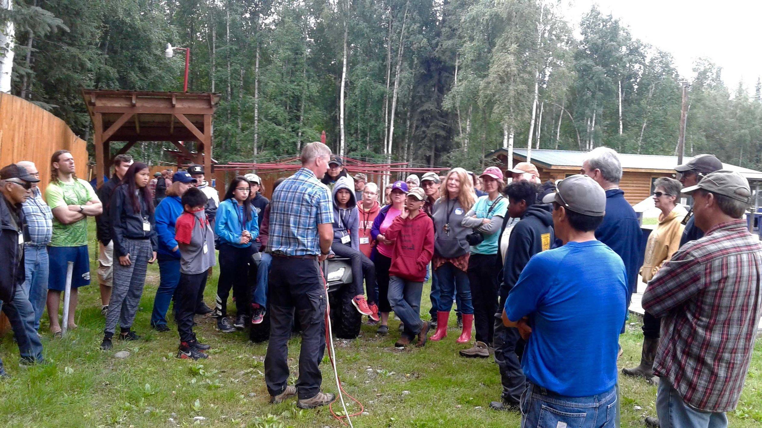 Dr. Arleigh Reynolds, UAF Dept of Vet Medicine, talks about training sled dogs.