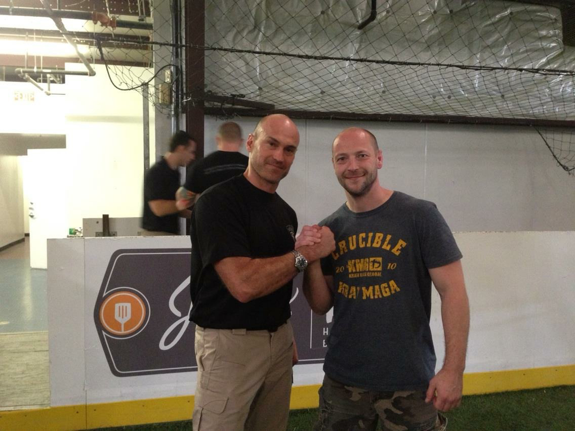 At StrongFirst SFG certification with Pavel