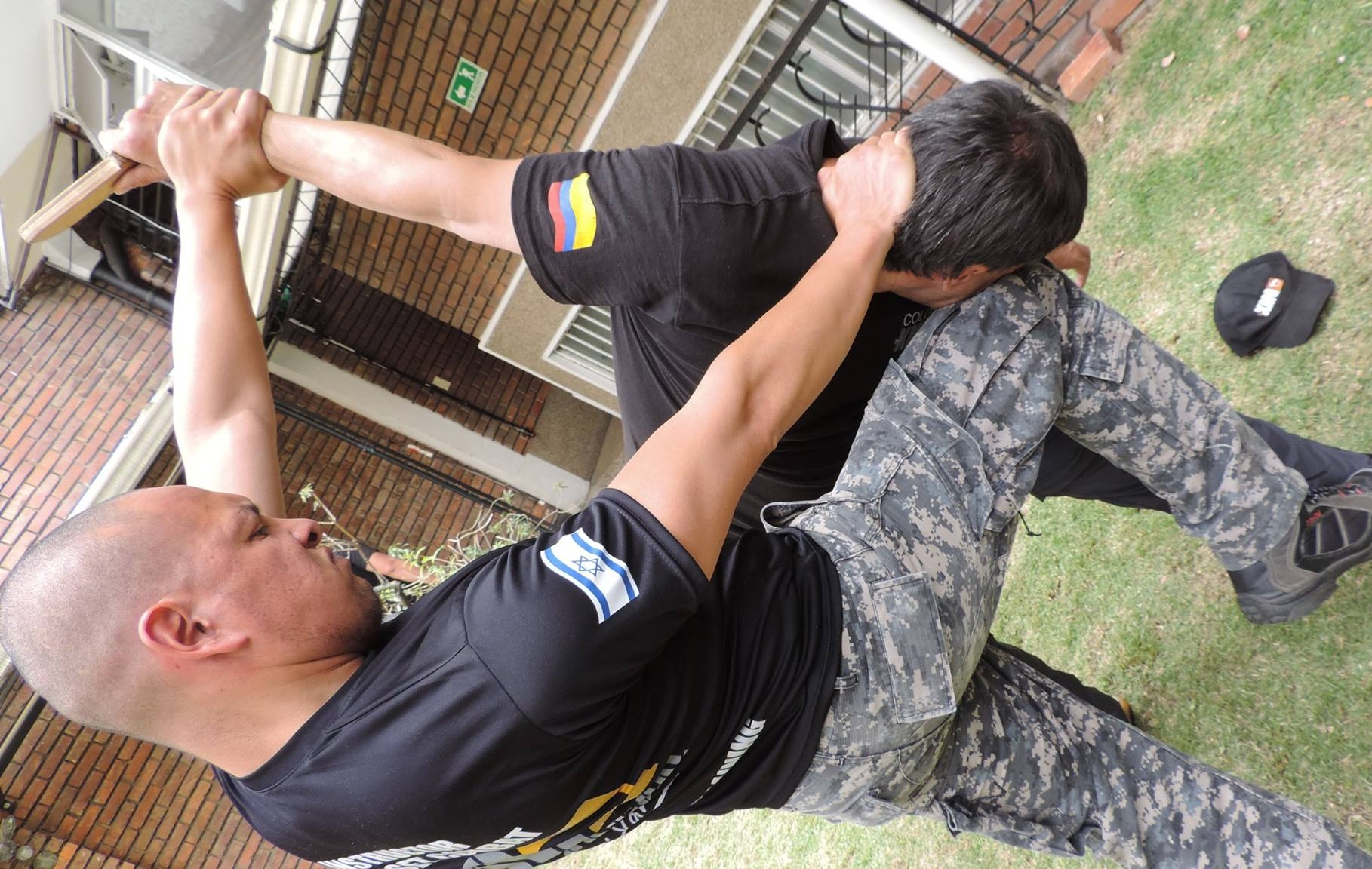 Krav Maga being trained in the military.